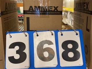 5 Boxes Ammex Food Service Disposable Gloves