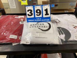 3 Size large Chef Coats