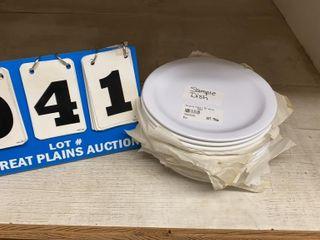 lot of 13 Carlisle Melamine Salad Plates