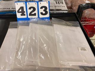 5 White 4 Way Waist Aprons