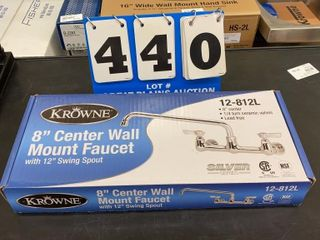 Krowne 8IJ Center Wall Mount Faucet