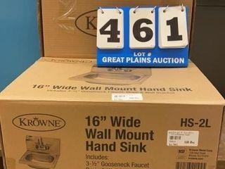 Krowne Wall Mount Hand Sink