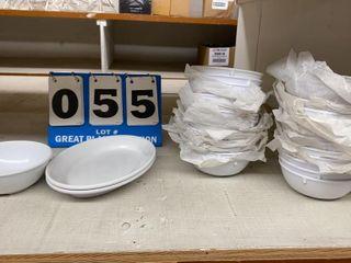 lot of Carlisle Melamine Dishes