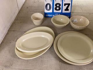lot of Assorted Carlisle Melamine Dishes