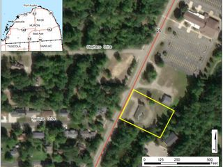 Main St, Caseville- .9A with Building
