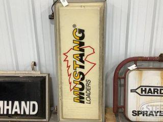Mustang loaders Illuminated sign 0 jpg