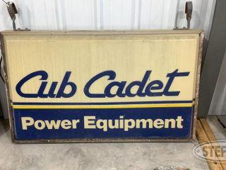 Cub Cadet Illuminated Sign 0 jpg