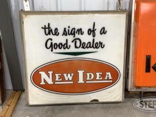 New Idea Illuminated Sign 0 jpg