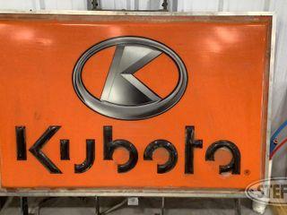Kubota Illuminated Sign 0 jpg