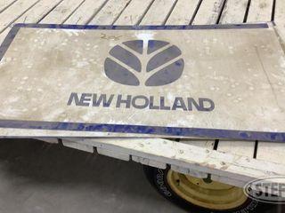 4 Aluminum New Holland Sign Panels 0 jpg