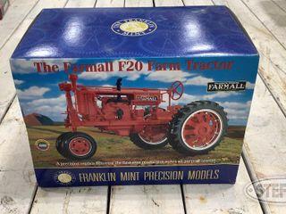 Franklin Mint 1 12 Scale Farmall F20 0 jpg