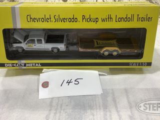 ERTl 1 50 Scale Chevrolet Truck and landoll 0 jpg
