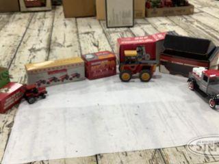 Mini Tractors Antique Chevrolet Truck Grain Cart 0 jpg
