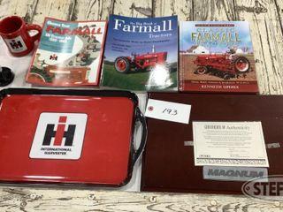 Farmall Books IH Tray Misc Items 0 jpg