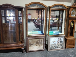 ANTIQUE COLLECTIBLES AND HOUSEHOLD