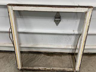 29  X 28  ANTIQUE WINDOW FRAME