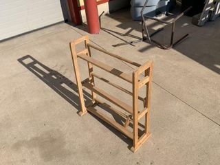 SMAll WOODEN ClOTHING RACK