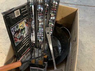 BOX OF BBQ UTENSIlS