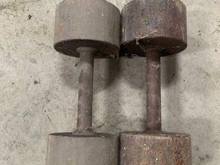 STEEl 30 POUND WEIGHTS