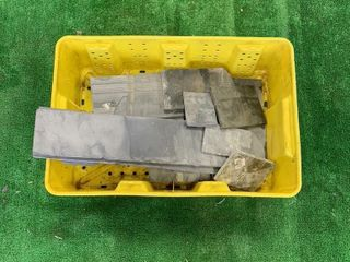 BOX OF SlATE PIECES