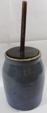 BUTTER CHURN WITH STOMPER  NO MARKINGS