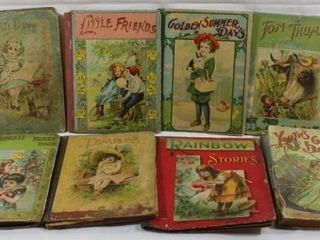 COllECTION OF 8 VINTAGE CHIlDRENS BOOKS