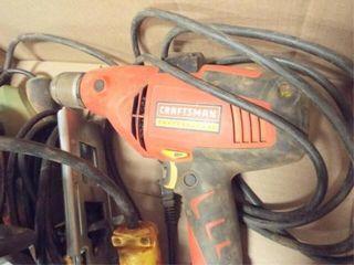 Milwaukee hand grinder  Craftsman 3 8 drill