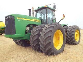 John Deere 9420 4x4 tractor  2004  3450 hrs  NO DE