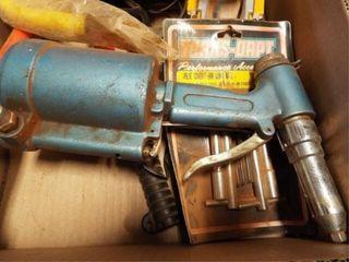 New Hallogen light  air rivetor  b0lt cutter