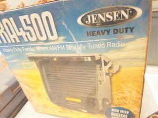 Jenson Fender mount radio  still in box
