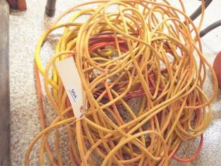 3 extension cords  75 50 25  one with out end