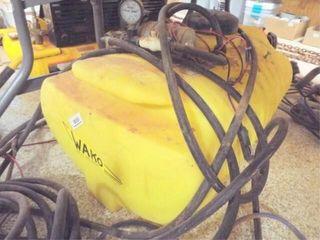 Wako 25 gal sprayer  hose and wann