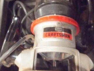 Craftsman 1hp Router runs