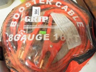 Booster cables 8 gauge 16  long