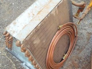 Coleman air condition unit   coil shop warn