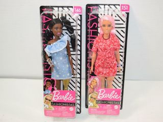2  Fashionistas Barbie