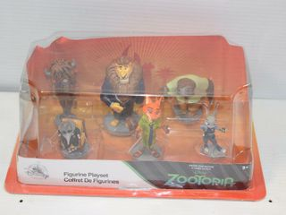 Zootopia Figurine Set