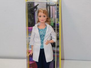 Scientist Barbie  note  Imperfect packaging