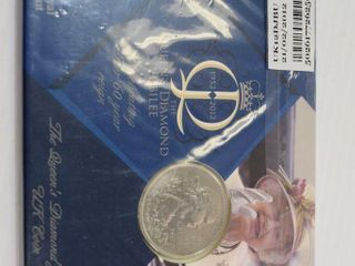 The Queens Diamond Jubilee Coin