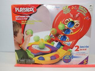 Playskool Electonic Bulls Eye Bounce   Roll
