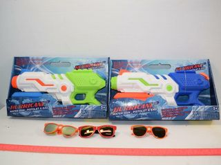 2  Waterguns and Sun Glasses