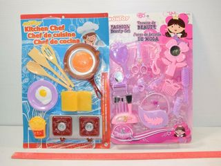 Kitchen Chef and Fashion Beauty Sets