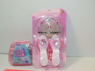 Princess Accessory Set and Jewelry Making Kit