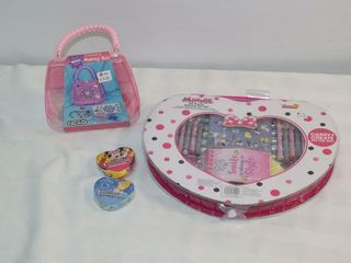Minnie Art Set  Craft Box   Misc
