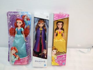 3 Dolls   Princess   Frozen II Anna