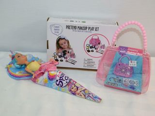 Makeup Play Set  Craft Box  Sparkle Girlz