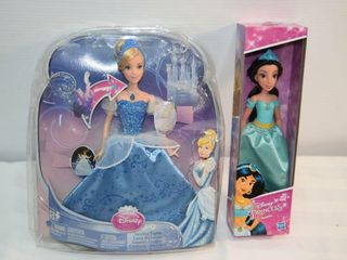 2 Dolls   Princess Jasmine   Swirling lights