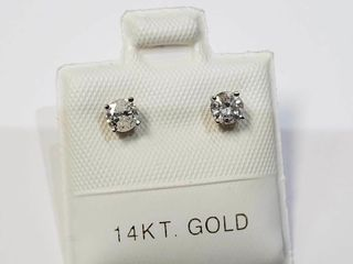 14K White Gold Diamond  0 4Ct I2 I3 H I
