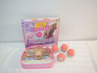 Gel Fizzees  Num Noms   Hair Kit