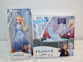 Frozen II Elsa Doll   Splash Match Game
